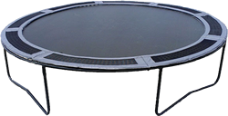14' Trampoline with Vented Safety Pad